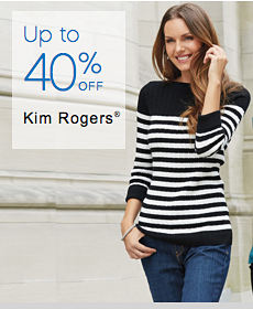 Up to 40% off Kim Rogers®
