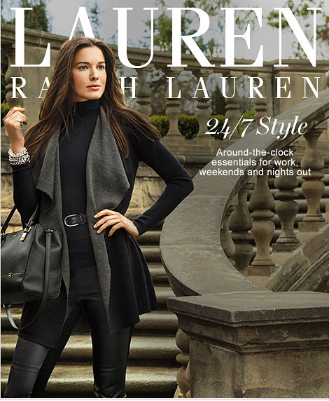 LAUREN Ralph Lauren | 24/7 Style | Around-the-clock essentials for work, weekends and nights out
