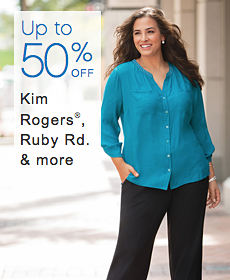Up to 50% off Kim Rogers®, Ruby Rd. & more