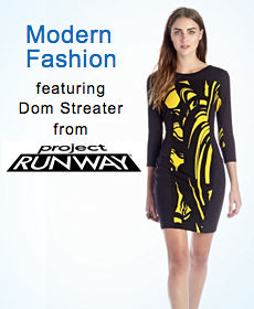 Modern Fashion featuring Dom Streater from project RUNWAY
