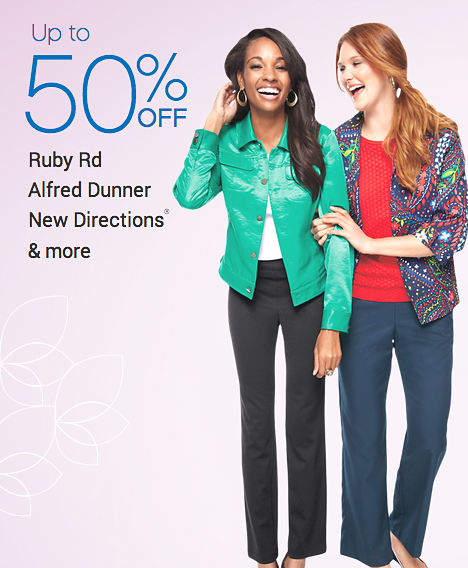 Up To 50 Off Ruby Rd Alfred Dunner New Directions 174 Amp More