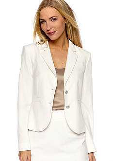 Calvin Klein Notched Collar Suit Jacket