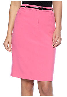 Calvin Klein Luxe Pencil Skirt