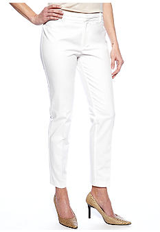 Calvin Klein Solid Cotton Pant