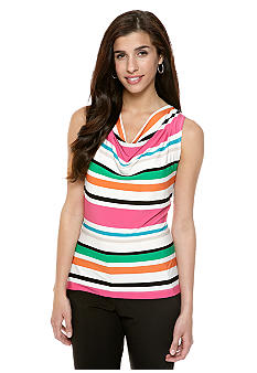 Calvin Klein Multicolor Stripe Shell