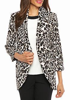Calvin Klein Print Flyaway Jacket