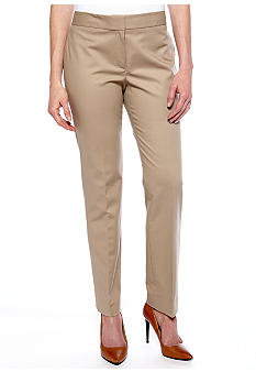Kasper Solid Dress Pant