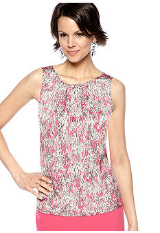 Kasper Feather Printed Cami