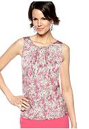 Kasper Petite Feather Printed Cami