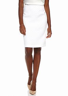 Kasper Patterned Skirt