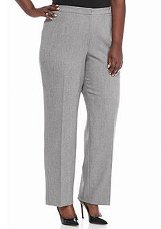 Kasper Plus Size Flat Front Pants