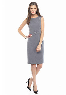 Kasper Heathered Sheath Dress