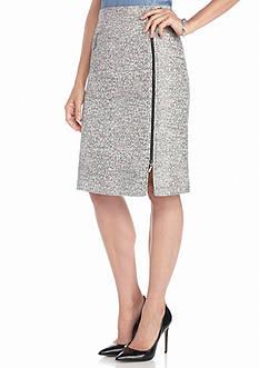 Kasper Tweed Skirt