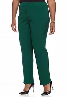 Kasper Plus Size Slim Dress Pants
