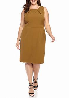 Kasper Plus Size Sheath Dress