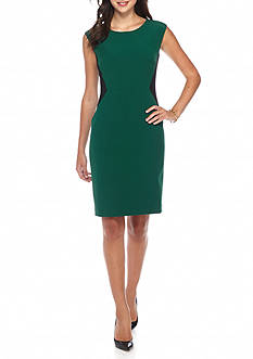 Kasper Colorblock Dress