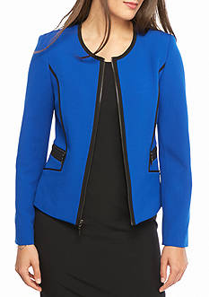 Womens Blue Jackets &amp Blazers | Belk