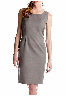 Kasper Melange Sheath Dress
