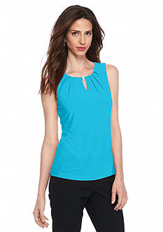 John Meyer Pleat Neck Cami