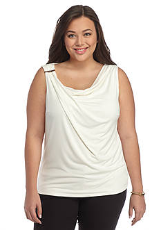 John Meyer Plus Size Jersey Knit Top