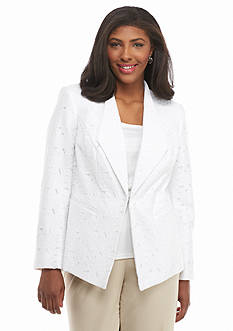 John Meyer Plus Size Lace Jacket