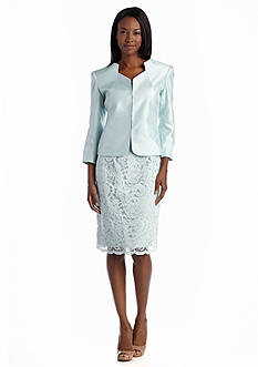 John Meyer Lace Dress Suit