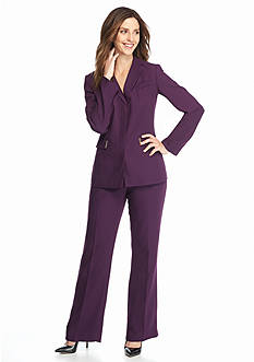 John Meyer Solid Pant Suit