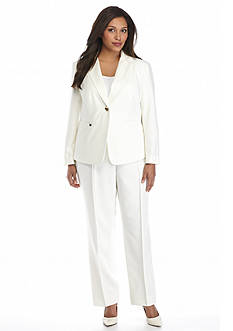 John Meyer One Button Pant Suit