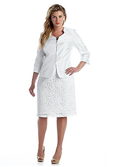 Belk Plus Size Dresses And Suits - Formal Dresses