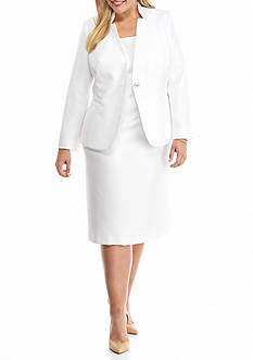 John Meyer Plus Size Jacket Dress