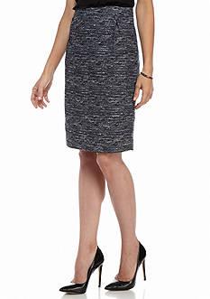 Tommy Hilfiger Tweed Multi Pencil Skirt