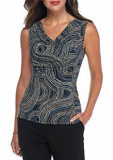 Tommy Hilfiger Jersey Knit Print Top