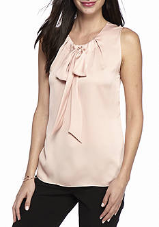 Tommy Hilfiger Sleeveless Tie Neck Cami