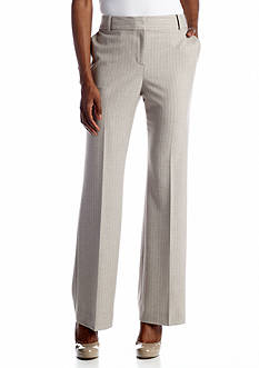 Anne Klein Pinstripe Modern Pant