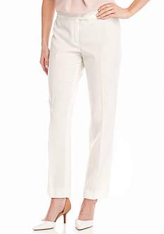 Anne Klein Flat Front Pants