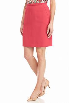 Anne Klein Solid Skirt