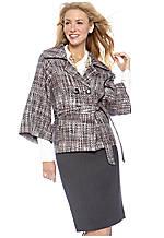 Tahari ASL Tweed Jacket with Solid Skirt