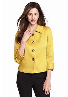 Tahari ASL Gold Four Button Jacket