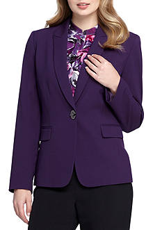 Tahari ASL Single Button Jacket