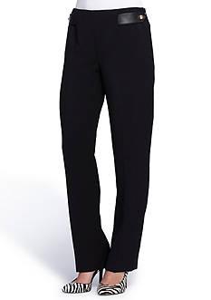 Tahari ASL Solid Ponte Pants