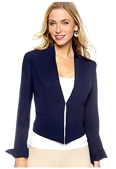 Nine West Suit Crepe Tuxedo Jacket