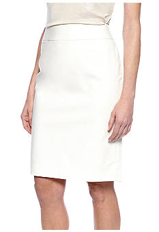 Nine West Suit Stretch Solid Skirt