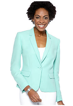 Nine West Suit Notch Collar Jacket