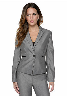 Nine West Suit Sharkskin Blazer