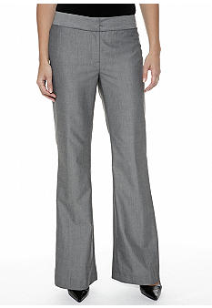 Nine West Suit Sharkskin Modern Pant