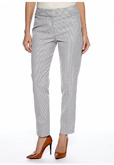 Nine West Suit Striped Skinny Pants