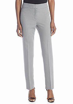 Nine West Houndstooth Printed Skinny Trouser