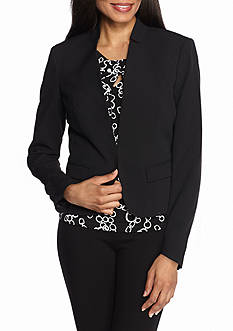 Nine West Inverted Notch Collar Jacket