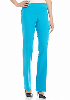 Nine West Bi Stretch Flat Front Pant