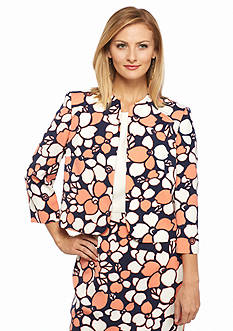 Nine West Print Flyaway Jacket